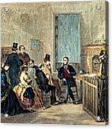 Va: Freedmens Bureau 1867 Acrylic Print by Granger
