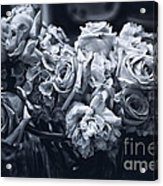 Vase Of Flowers 2 Acrylic Print by Madeline Ellis