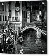 Venice Evening Acrylic Print by Madeline Ellis
