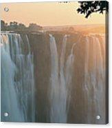 Victoria Falls, Zimbabwe, Africa Acrylic Print by Jeremy Woodhouse