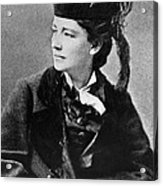 Victoria Woodhull 1838-1927, Early Acrylic Print by Everett