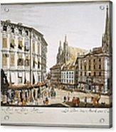 Vienna, 1779 Acrylic Print by Granger