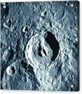 View Of Landscape Of The Moon Acrylic Print by Stockbyte
