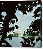 View Of The Jefferson Memorial Acrylic Print by John Russell Pope