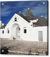 View Of Trullo Sovrano Acrylic Print by Gualtiero Boffi