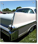 Vintage 1957 Cadillac . 5d16688 Acrylic Print by Wingsdomain Art and Photography