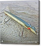 Vintage Fishing Lure - Floyd Roman Nike Lil Sandee Acrylic Print by Mother Nature