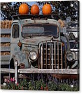 Vintage Harvest Acrylic Print by Kimberly Perry