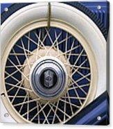 Vintage Nash Tire Acrylic Print by Kay Novy