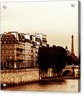 Vintage Paris 5 Acrylic Print by Andrew Fare