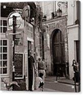 Vintage Paris1 Acrylic Print by Andrew Fare