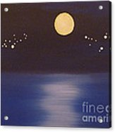 Virgo And Capricorn Acrylic Print by Alys Caviness-Gober