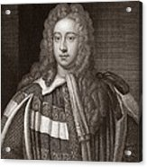 Viscount Bolingbroke, English Statesman Acrylic Print by Middle Temple Library