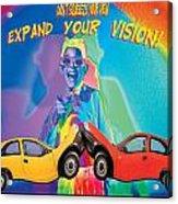 Vision Acrylic Print by Mauro Celotti