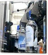Vodka Bottling Machine Acrylic Print by Ria Novosti