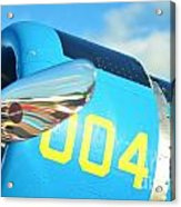 Vultee Bt-13 Valiant Nose Acrylic Print by Lynda Dawson-Youngclaus