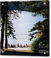 Walden Pond Acrylic Print by John Small