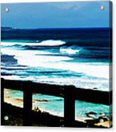 Walkway To The Sea Acrylic Print by Phill Petrovic