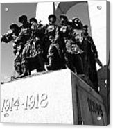 War Memorial Acrylic Print by Kevin Gilchrist