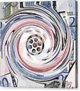 Wasting Money, Conceptual Image Acrylic Print by Victor De Schwanberg