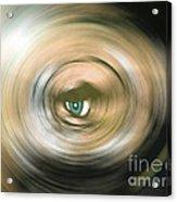 Watching You Acrylic Print by Bruno Santoro