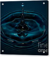 Water Drop No.11 Acrylic Print by Nadya Ost