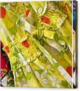 Watermelon Season Acrylic Print by Rebecca Cozart
