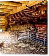 Watersfield Stable Acrylic Print by Dawn OConnor