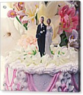 Wedding Cake Acrylic Print by Garry Gay