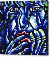 Weeping Child Acrylic Print by Kamil Swiatek