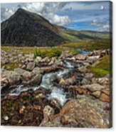 Welsh Valley Acrylic Print by Adrian Evans