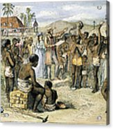 West Indies: Slavery, 1833 Acrylic Print by Granger