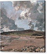 Weymouth Bay With Jordan Hill Acrylic Print by John Constable