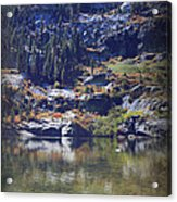 What Lies Before Me Acrylic Print by Laurie Search