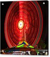 Wheel In The Sky Acrylic Print by Gordon Dean II