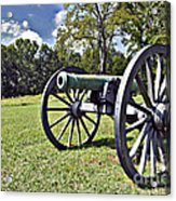 Wheels Of Production - War Acrylic Print by Charles Dobbs