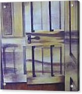 When One Door Closes Acrylic Print by Patsy Sharpe