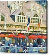 Whistler One Acrylic Print by Dale Stillman