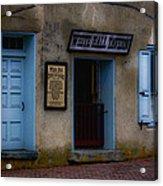 White Hall Tavern Acrylic Print by Ron Jones