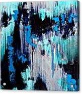 White Noise Acrylic Print by Eric Chapman