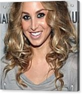Whitney Port In Attendance Acrylic Print by Everett