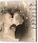 Why He Made Mothers Acrylic Print by Kelly Hazel