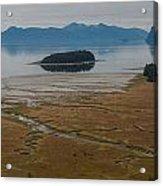 Wild Alaska Coast Acrylic Print by Mike Reid