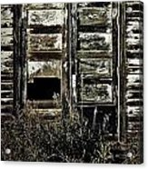 Wild Doors Acrylic Print by JC Photography and Art