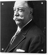 William Howard Taft - President Of The United States Of America Acrylic Print by International  Images