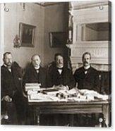 William Howard Taft Center Headed Acrylic Print by Everett