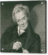 William Wilberforce 1859-1833, British Acrylic Print by Everett