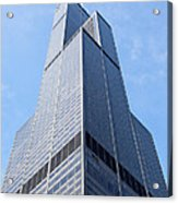 Willis-sears Tower In Chicago Acrylic Print by Paul Velgos