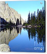 Willow Lake Afternoon Acrylic Print by Scotts Scapes