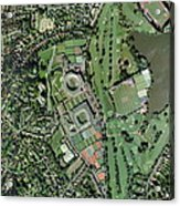 Wimbledon Tennis Complex, Uk Acrylic Print by Getmapping Plc